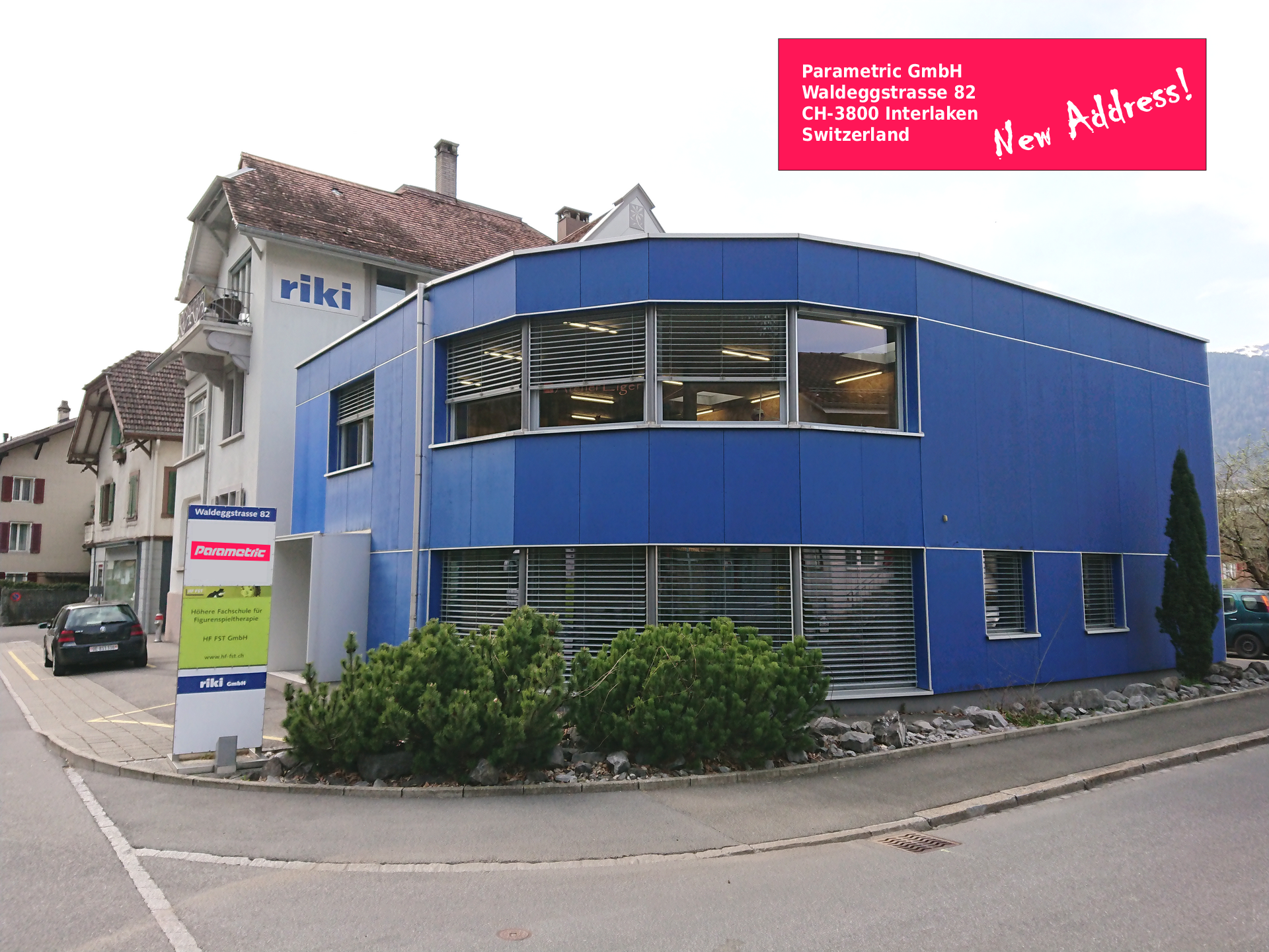 New HQ and Service Center Interlaken